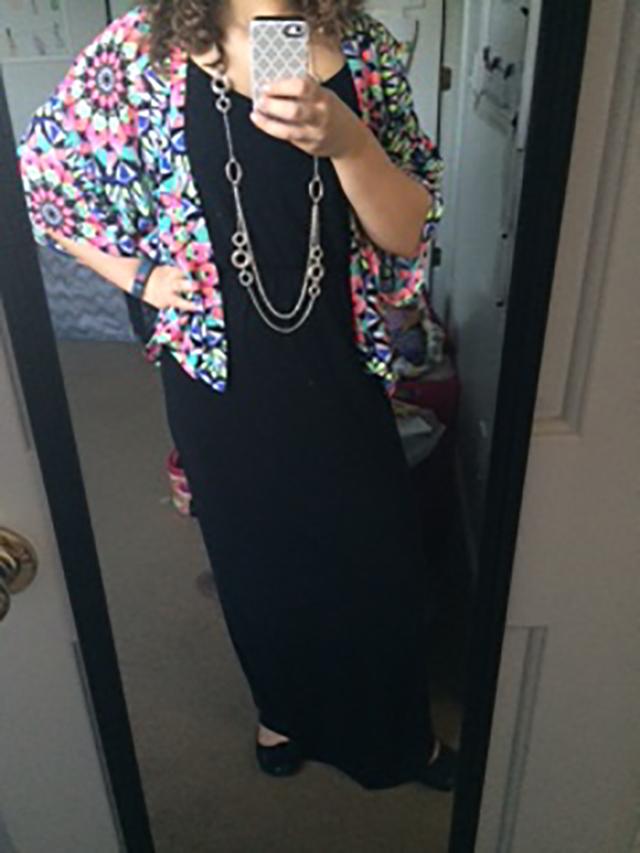 kimono and maxi