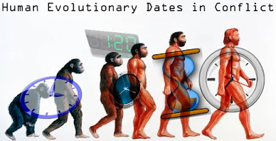 Human evolution dating has serious problems