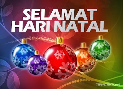 Kartu Ucapan Selamat Hari Natal 2017