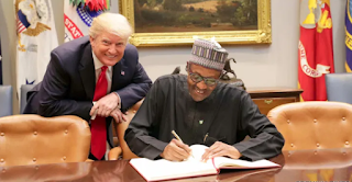 Buhari reacts to Trump's plans to ban Nigerians from coming to the US