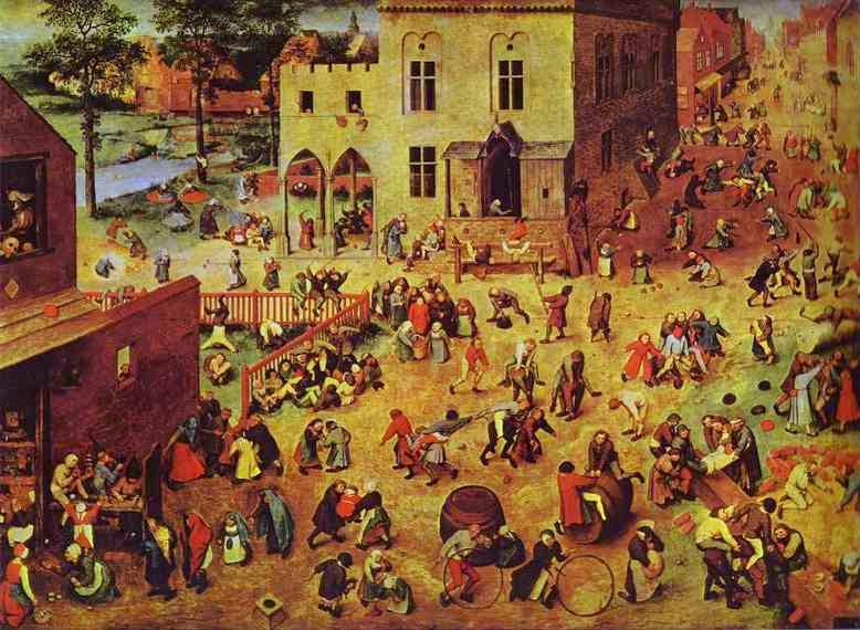 Image result for bruegel children's games