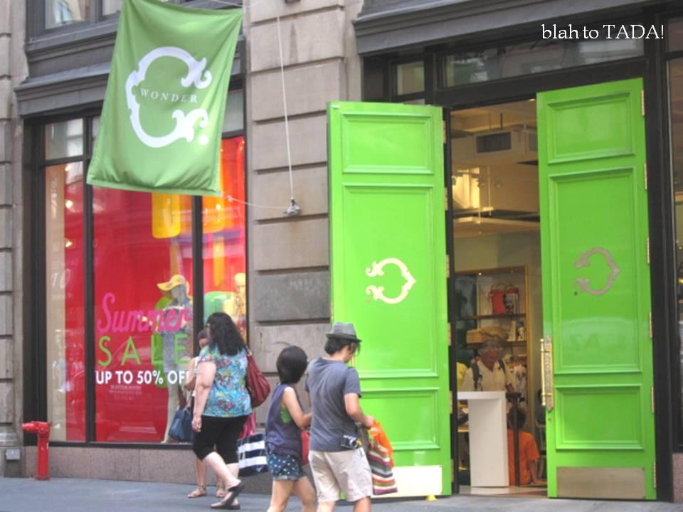 Blah To Tada Shops In Soho