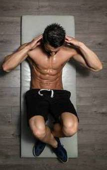 push ups,squats,get 6 pack abs.