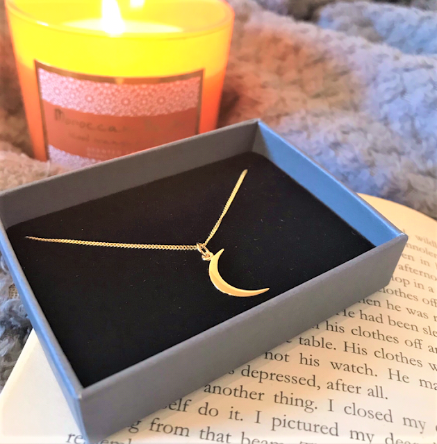 Jewel Editions Gold Moon Necklace