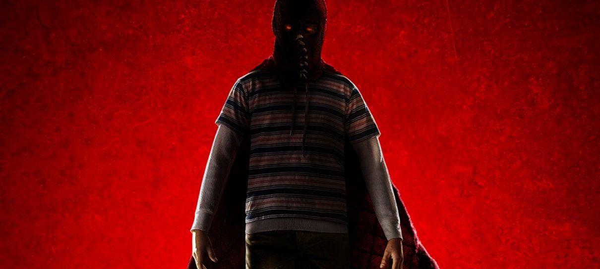 Poster oficial do filme Brightburn