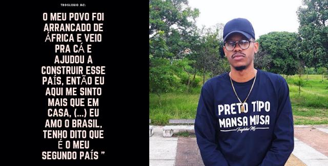 """O mc angolano Troglobio MC, lança álbum inspirando no rei de Mali """"Mansa Musa"""""""