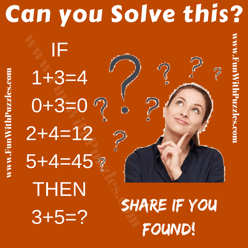 Logic Puzzle For Fun With Answer