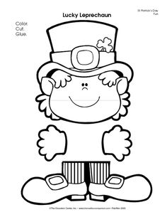 Satisfactory image with regard to leprechaun template printable