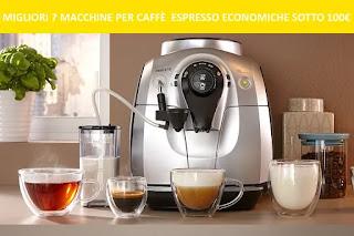 Migliori 7 macchine per caffè espresso economiche sotto i 100€