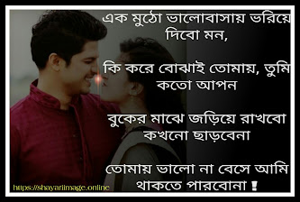 love Shayari in Bengali for boyfriend