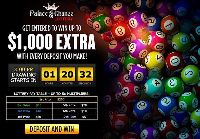 Palace of Chance Casino Lottery