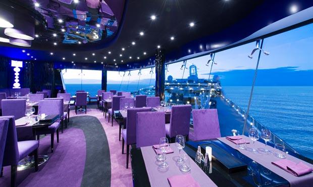 Restaurant avec vue sur la mer