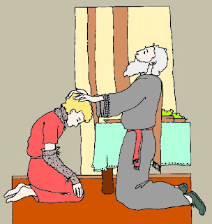 Isacco benedice suo figlio Giacobbe