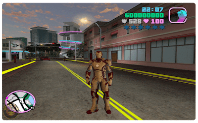 GTA Vice City Iron Man Mod