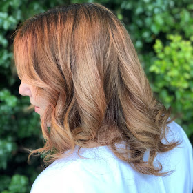 Glamsquad, blowout, hair, hairstyle, at home blowout, hair appointment, Salon and Spa Directory, Los Angeles, Jamie Allison Sanders, curly blowout, curls