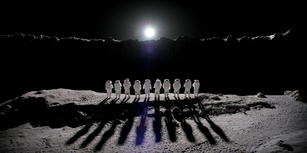 Astronauts watching sunrise on the Moon in season 2 of 'For All Mankind'