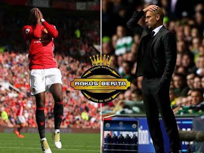 Pogba Doa'kan Pemain Manchester City Banyak Yang Cedera Jelang Derby Manchester