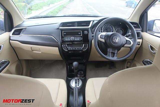 2016 Honda Amaze Dashboard