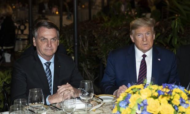Brazilian president Jair Bolsonaro 'tests positive for coronavirus' 6 days after he dined with President Trump