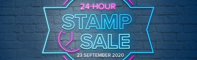 The BIGGEST stamp sale of the year is almost here!