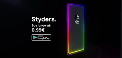 Styders App to Activate The Lighting Around The Android Screen