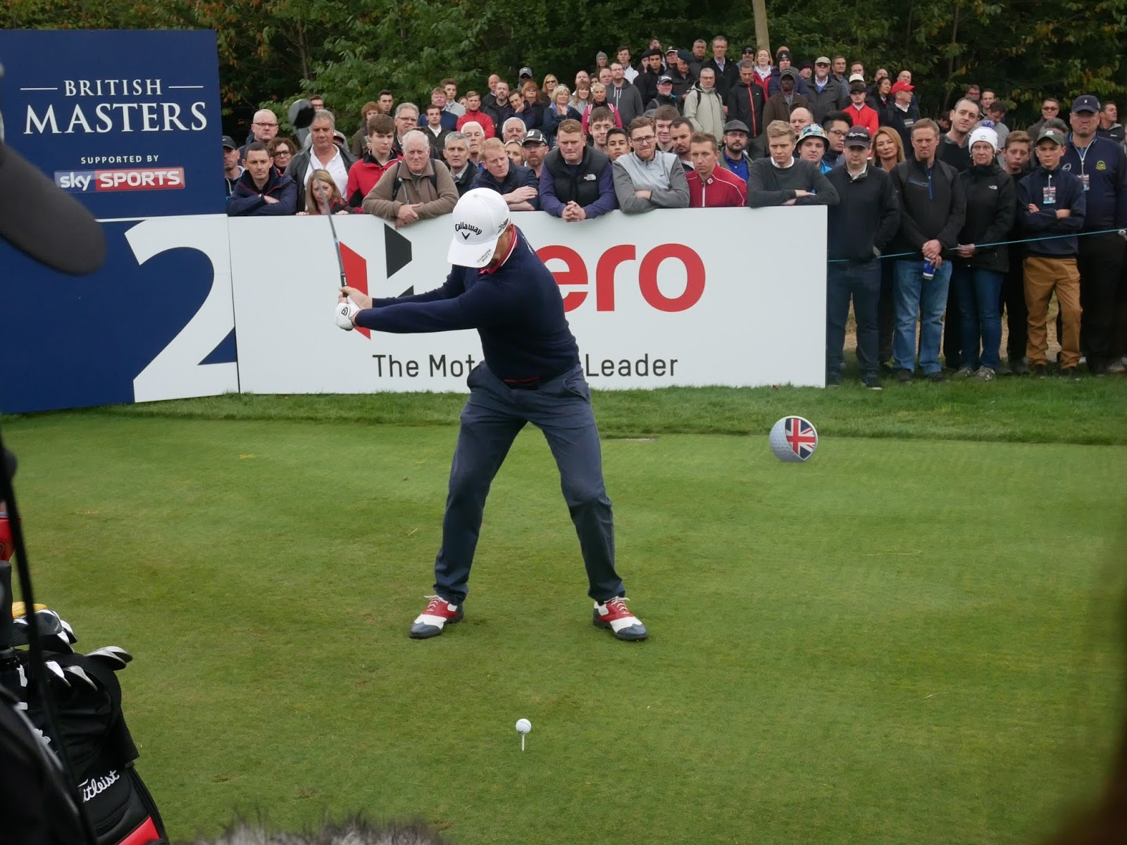 Alex Noren takes aim at the British Masters 2016