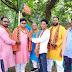 सोनो के राजपुर में BJP द्वारा सम्मान समारोह आयोजित