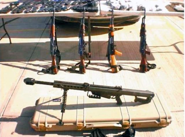 """""""BIEN ENFIERRADOS"""" DETONAN el DECOMISO de MAS ARMAS de ALTO PODER"""
