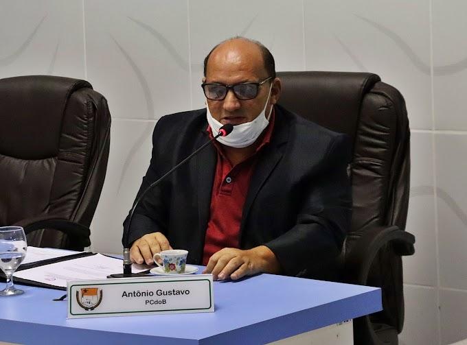 Vereador Gustavo apresenta indicação solicitando vacina para garis e motoristas de caminhões de lixo