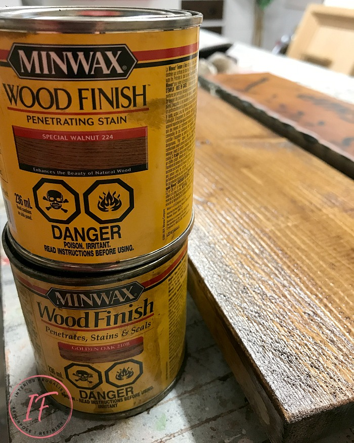 "How to get the look of a wood-burned sign with paint! A fun DIY salvaged junk wood ""faux wood-burned"" Garden Shed Sign that matches the real thing!"