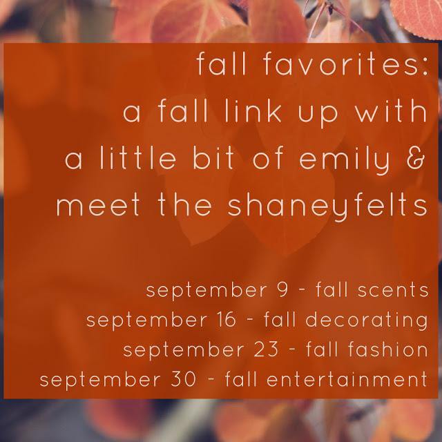 Fall Favorites: Fashion
