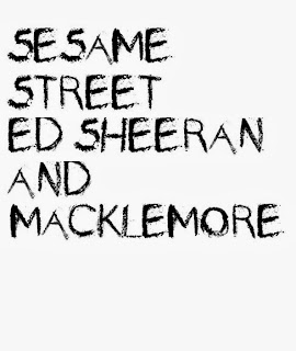 Ed Sheeran & Macklemore on Sesame Street