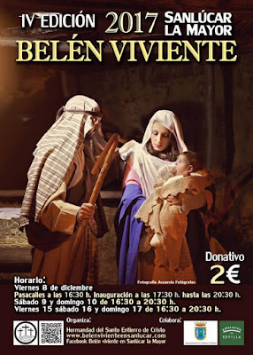 Belén Viviente 2017 - Sanlúcar la Mayor