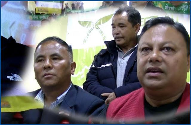 GNLF leader JB Tamang Joins GJMM