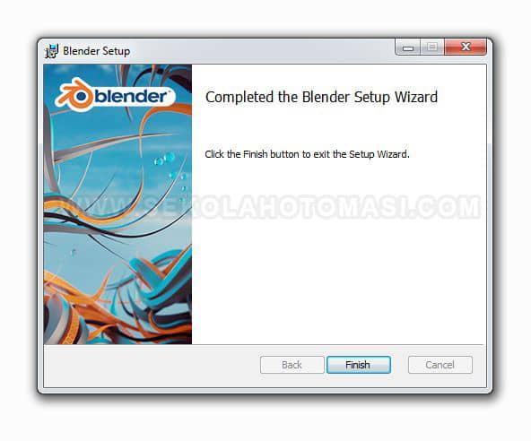 Langkah Instalasi Aplikasi Blender