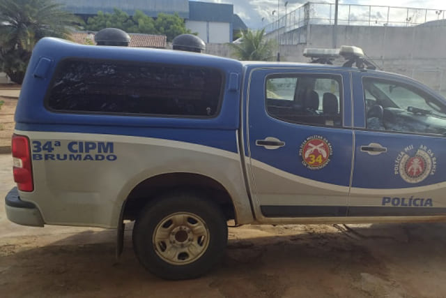 Policial salva bebê engasgado em Brumado
