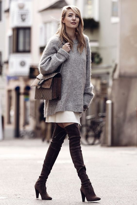 04fdfb813ddd Chic and Silk  DRESS WITH DRESS  Πλεκτό Φόρεμα. Δείτε πως να το ...