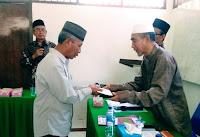 Mubin Akhirnya Dikukuhkan Sebagai Imam Besar Masjid Baitul Hamid Penaraga