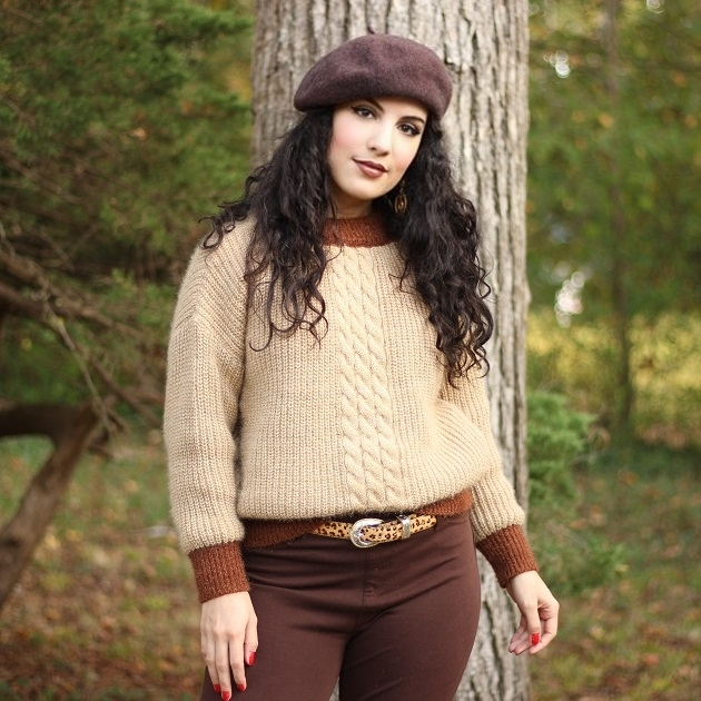 SHEIN Brown Sweater