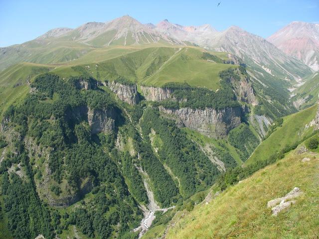 View from Gudauri