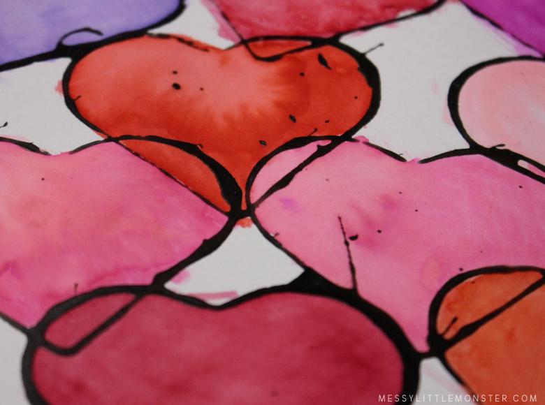 heart art project