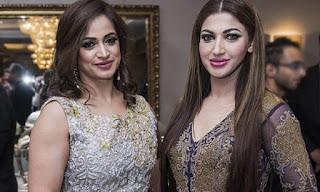 Sana Fakhar Hand in Noor Bukhari Fifth Wedding
