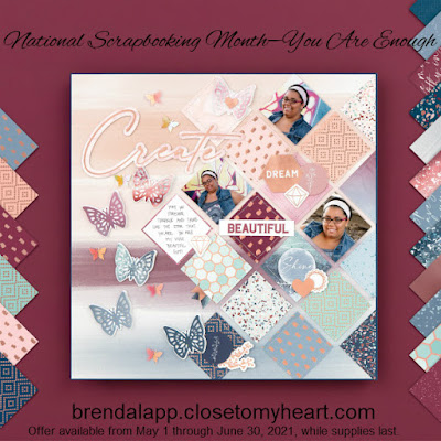 National Scrapbooking Month—You Are Enough