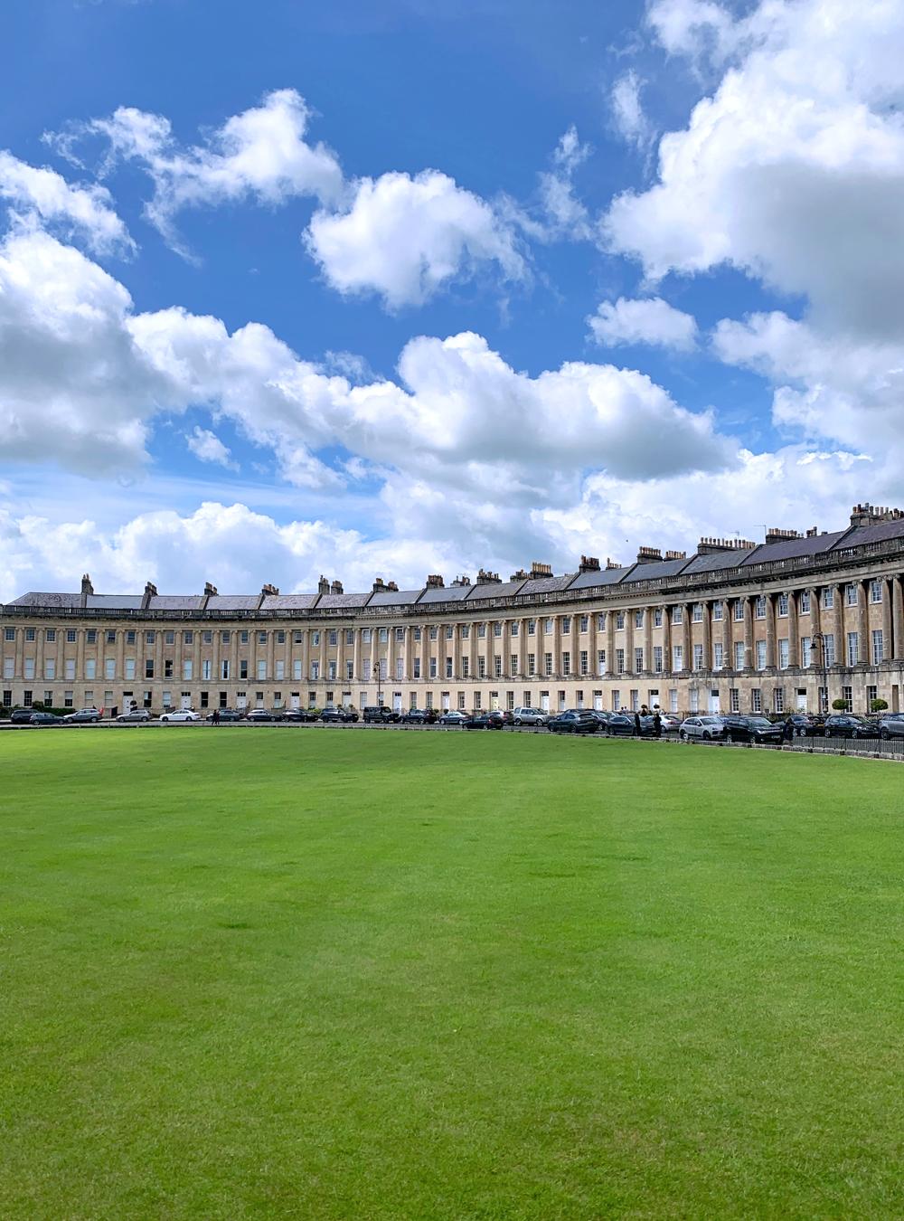 Bath Royal Crescent, UNESCO World Heritage Site - Emma Louise Layla, UK travel & lifestyle blog