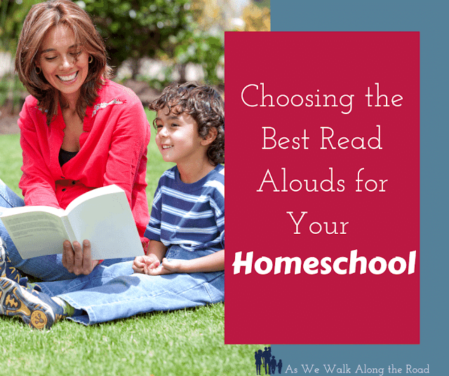 Choosing read alouds for your homeschool