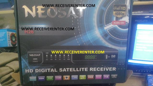 NEOSAT H26 HD RECEIVER CCCAM OPTION