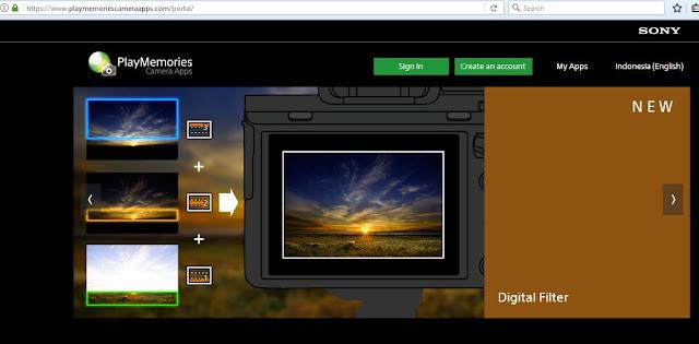 Sony Play Memories Camera App