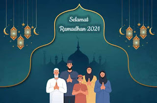 contoh kartu ucapan ramadhan