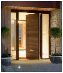 model daun pintu minimalis modern