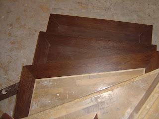 forrar una escalera con madera